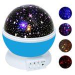 Ubegood Sternenhimmel Projektor Blau-1