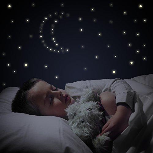 TALINU Leuchtsterne//Leuchtpunkte f/ür Deinen Sternenhimmel im Kinderzimmer